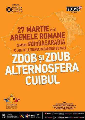 Concert | #dinBASARABIA - Alternosfera, Zdob si Zdub & Cuibul