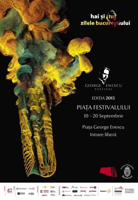 Piața Festivalului George Enescu 2015
