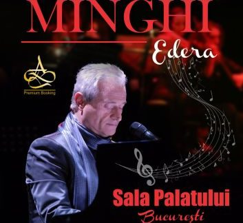 Cântărețul și compozitorul italian Amedeo Minghi va susține un concert in premiera  la Bucuresti