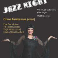#Concert | Jazz Night cu Ozana Barabancea