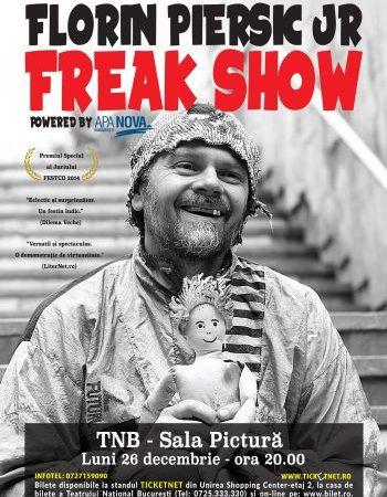 #Teatru One Man Show | FREAK SHOW cu Florin Piersic jr.
